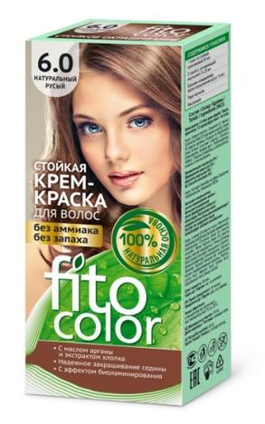 Fitocosmetics Fitocolor Naturalna Farba-krem do włosów nr 6.0 naturalny jasny brąz