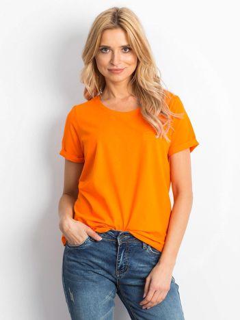 Fluo pomarańczowy t-shirt Transformative