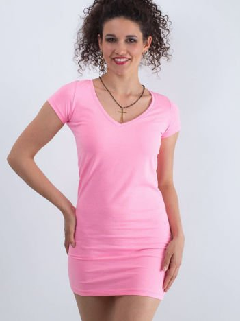 35bca51c33 Fluo różowa sukienka Privilage