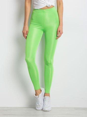 Fluo zielone legginsy Inherently