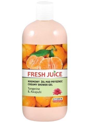 Fresh Juice Żel pod prysznic kremowy Mandarynka i Dziki Imbir 500 ml