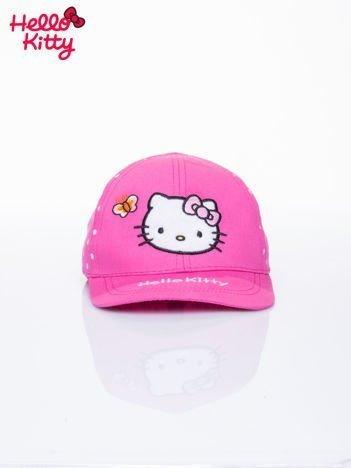 Fuksjowa czapka z daszkiem dla dziewczynki HELLO KITTY