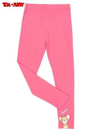 Fuksjowe legginsy dla dziewczynki TOM I JERRY