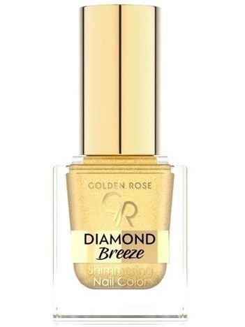 GOLDEN ROSE Brokatowy lakier do paznokci Diamond Breeze Shimmering Nail Color 01 10,5 ml