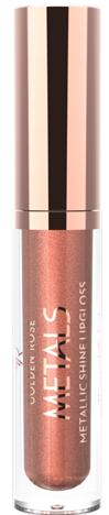 GOLDEN ROSE Metaliczny błyszczyk do ust 05 bronze 4,5 ml