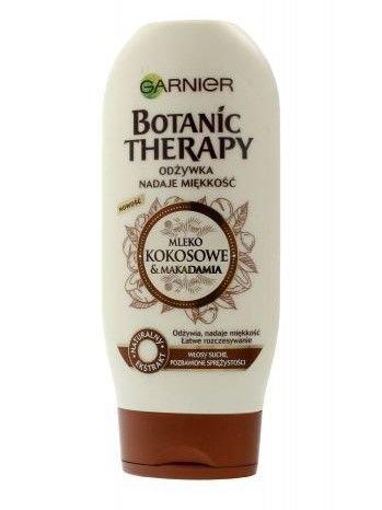 Garnier Botanic Therapy Odżywka do włosów suchych i bez sprężystości Mleko Kokosowe & Makadamia  200 ml