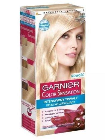 Garnier Color Sensation Krem koloryzujący do włosów 110 Diamentowy Superjasny Blond