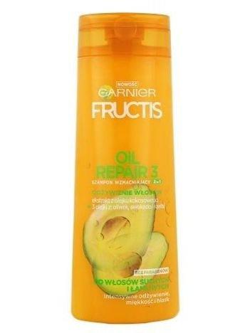 Garnier Fructis Szampon wzmacniający do włosów 2 w 1 odżywczy Oil Repair 3  400 ml