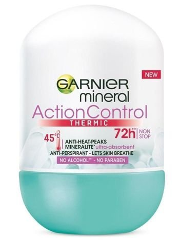 Garnier Mineral Antyperspirant roll-on Action Control Thermic 72h  50 ml