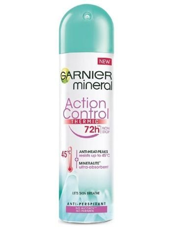 Garnier Mineral Antyperspirant w sprayu Action Control Thermic 72h  150 ml
