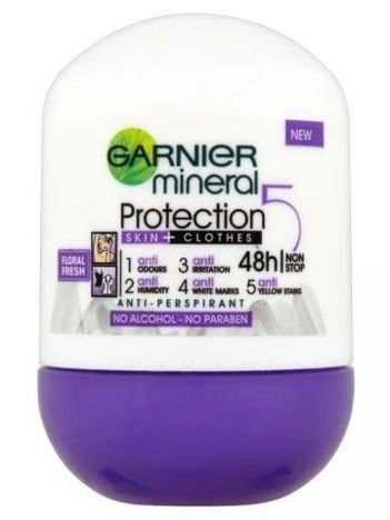 Garnier Mineral Protection 5 Antyperspirant w kulce Floral Fresh 50 ml