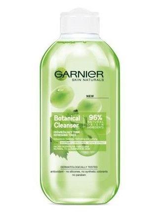 Garnier Skin Naturals Botanical Tonik odświeżający Grape Extract  200 ml