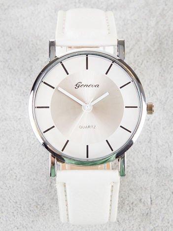 Geneva biały zegarek damski