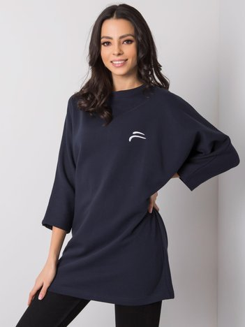 Granatowa bluza Ingrid FOR FITNESS