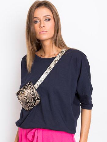 Granatowa bluzka Brittany