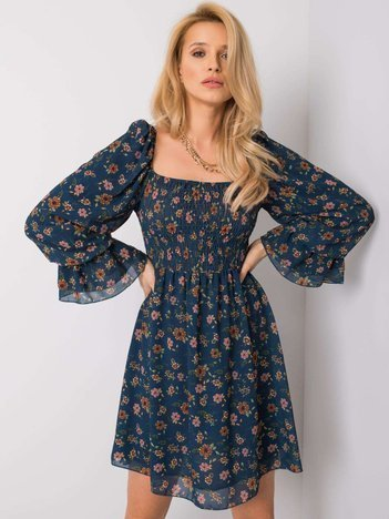 Granatowa sukienka Agustina OCH BELLA