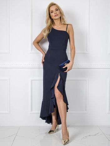 Granatowa sukienka Danielle