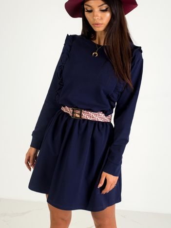 Granatowa sukienka Day