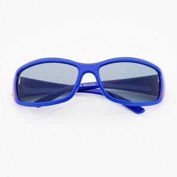 Granatowe Dziecięce Okulary przeciwsłoneczne