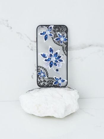 Granatowo-czarne etui iPhone 7 Plus iPhone 8 Plus