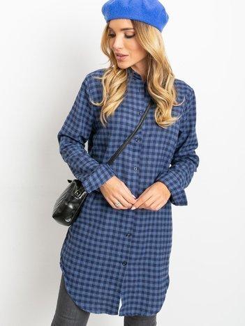Granatowo-niebieska sukienka Davies