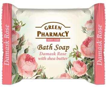 Green Pharmacy Body Care Mydło w kostce Damask Rose 100 g