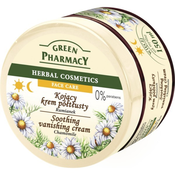 Green Pharmacy Herbal Cosmetics Krem do twarzy kojący z rumiankiem 150 ml