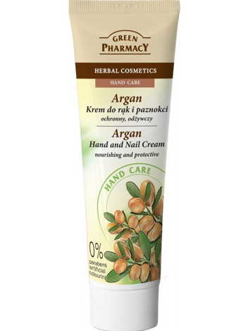 Green Pharmacy Krem do rąk i paznokci Argan ochronno-odżywczy 100 ml