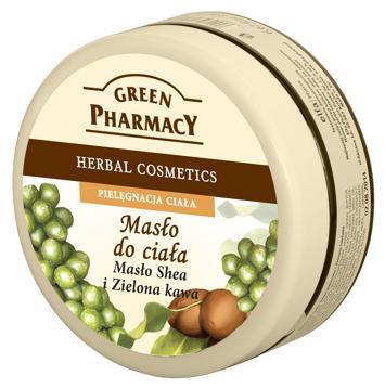 Green Pharmacy Masło do ciała Masło Shea, Zielona kawa 200 ml