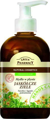 """Green Pharmacy Mydło w płynie Jaskółcze ziele"""""""