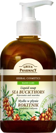 Green Pharmacy Mydło w płynie Rokitnik 465 ml