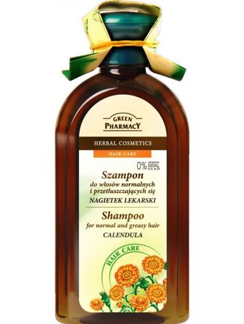Green Pharmacy Szampon do włosów normalnych i przetłuszczających się Nagietek 350 ml