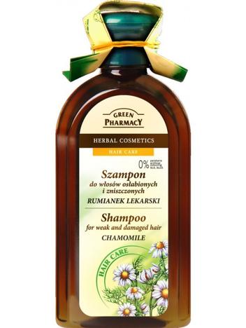 """Green Pharmacy Szampon do włosów zniszczonych Rumianek"""""""