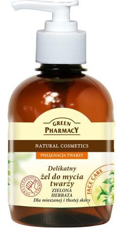 Green Pharmacy Żel do mycia twarzy cera tłusta i mieszana Zielona Herbata 270 ml