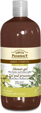 Green Pharmacy Żel pod prysznic Masło shea & Zielona kawa 500 ml