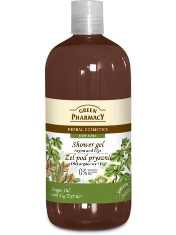 Green Pharmacy Żel pod prysznic Olejek Arganowy & Figi 500 ml
