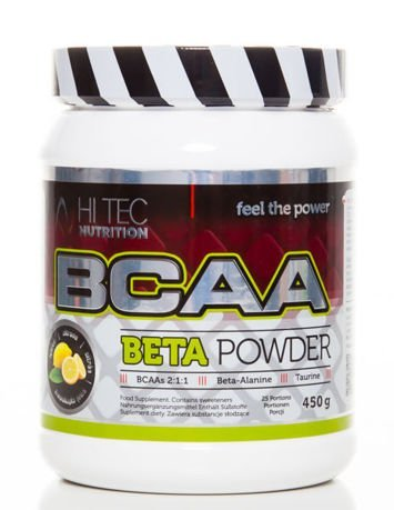 HiTec - BCAA Beta Powder - 450g lemon