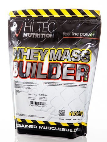 HiTec - Gainer Whey Mass Builder - 1500g strawberry