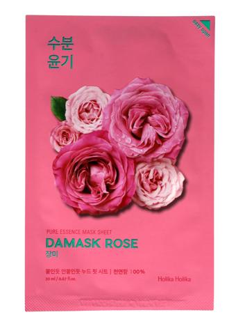 """Holika Holika Pure Essence Mask Sheet-Damask Rose  1szt"""""""