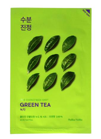 """Holika Holika Pure Essence Mask Sheet-Green Tea  1szt"""""""