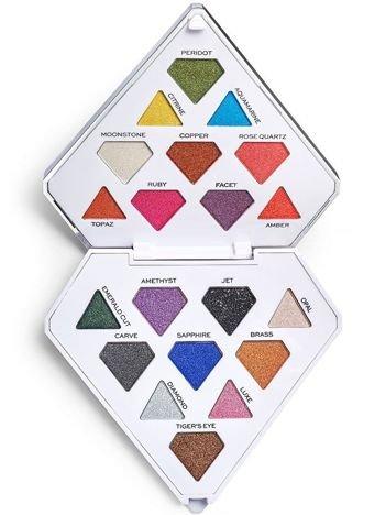 I Heart Revolution Diamond Bright Eyeshadow Palette Paleta 20 cieni 7,6g