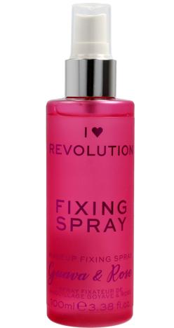 I Heart Revolution Fixing Spray Mgiełka utrwalająca makijaż Guava & Rose 100ml