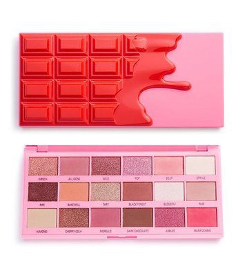 I ♥ Revolution Cherry Chocolate Palette Paleta 18 Cieni Do Powiek