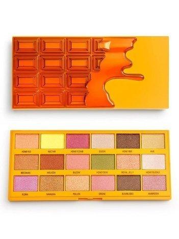 I ♥ Revolution Chocolate Honey Palette Paleta 18 Cieni Do Powiek