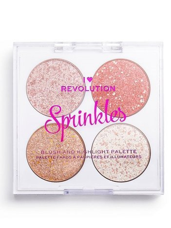 I ♥ Revolution Paletka do konturowania Blush&Sprinkles Ice Cream Sundae 4 x 1,5 g