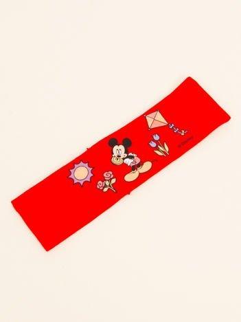 INCA Czerwona opaska na głowę dziecięca z postaciami z bajek