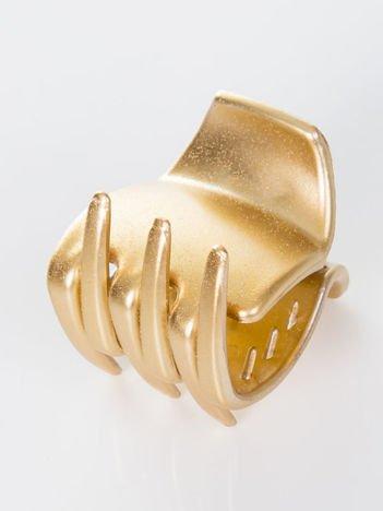 INCA Klamra do włosów 4 cm złota