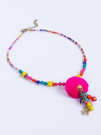 INCA Naszjnik z koralików z ozdobami