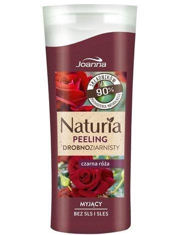 JOANNA NATURIA Peeling Drobnoziarnisty Czarna Róża 100 g
