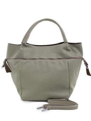 Jasna khaki torba shopper